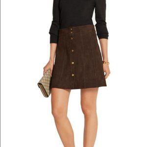 Frame Suede Mini Skirt NWT